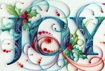 Quilling:letters,words etc..... / by diane vretas