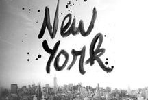 New York City / NYC' things / by Sean lee