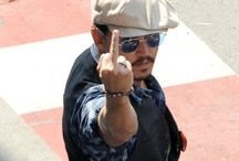 Johnny Depp / Johnny Depp is the Coolest of all of Hollywood / by Michael & Brenda