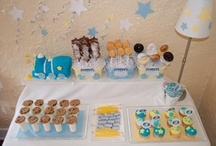 Goodnight Train Party / by Amy {fun-baby-shower-ideas.com}
