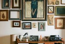 Gallery wall / by Tricia Beaman