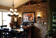 Design Ideas - Dining Room / Design ideas for residential and commercial dining rooms, especially those featuring stone veneer, faux brick and decorative siding panels. / by Faux Panels.com