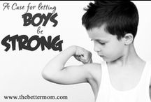 Family   Mother of Boys / by Jennifer Flanders {Loving Life at Home}