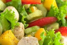 Eat   Rabbit Food / A collection of fresh, crisp salad recipes / by Jennifer Flanders {Loving Life at Home}