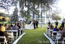 Traditional & Charming / Photos courtesy of Old South Photography.  Candle Decor- Truly Haute Events / by Nottoway Plantation
