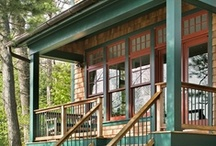 cabin porch / by Kate Jackson