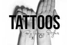 tattoos / by Harry Styles
