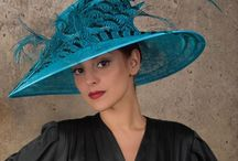 Hats! / Fabulous hats- historic, huge, funky, ugly, tiny, beautiful, fantastic, fedoras to fascinators  / by Rebecca Biddle