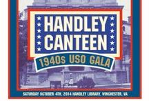 Celebrating the 1940's / The 2014 Handley Regional Library's fundraising gala featuring a World War II-themed USO show will be held Saturday, October 4. Check out our board for inspiration! / by Handley Regional Library
