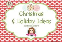 Christmas & Holiday Ideas / A collection of Christmas decoration, Thanksgiving, Halloween, Easter, and all other seasonal holiday craft and activities.  (Guidelines for Invited Pinners: if you could pin up to 3 paid pins a day and share a few ideas/unpaid pins as well that will help us keep a nice balance on the board for our followers. If you'd like to be invited to pin please email me at sarahannescreativeclassroom@yahoo.com) / by Sarah Anne's Creative Classroom
