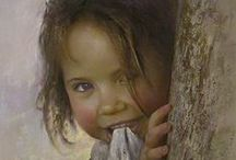 Various Talented Artists / Awesome Paintings by Other Artists / by sharon kirk