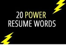Resume Tips / by ECU The Career Center