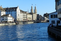 Zürich my city / My home town ❤️ / by Marie-Louise Vallally
