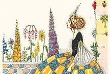 pretty papers lovely ladies thru the ages /  women & fashion images  / by linda french merritt