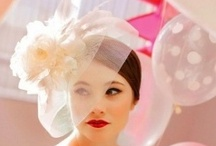 Wedding Veils/Hair Pieces/Floral Crowns / by White Satin Wedding Show