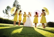Wedding YELLOW / by White Satin Wedding Show