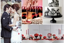 Wedding RED, BLACK & WHITE / by White Satin Wedding Show