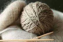 Knitting & Crochet / by Mrs E