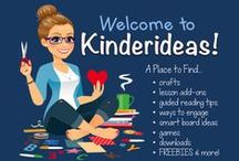 Kinderideas / Welcome to Kinderideas!  A place where you can find more suggestions, ideas, and tips than you'll ever need for the littles in your life. Interested in becoming a contributor? Send me an email: thebarefootteacher@gmail.com. Sellers, please keep your pinning of paid products to free ones at a 1:4 ratio. Enjoy! / by Becky Castle