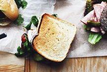 sandwich / burger / tartine / Sandwich / Burger / Panino / Hotdog / Wrap / Tartine /  Corndog / by Masaki Higuchi