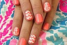 Pretty nails / by Lindsey Salo