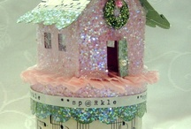Glitter Houses and Boxes / by Maddy P.