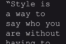 style / by Marieke Vennik