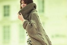 Knit & Crochet: Cardigans & Jackets... / cardigans, jackets, vests, robes, boleros, shrugs...essentially tops that are open in the front, with or without buttons... / by Trina Harris