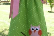 sewing child dress / patterns, ideas or tuts for dresses / by Nancy McConaghy