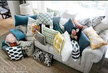 Home: Fabric and Pillows / by Miriam Howard