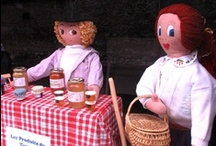 "Campan Rag Dolls / Campan ""mounaques"" life-size rag dolls / by Travel for Kids"