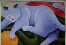 Cats  In Art / by Jenny Perova