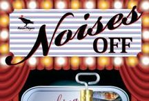 Noises Off! / Apr 25 - May 11 at Raven Performing Arts Center Called the funniest farce ever written, Noises Off presents a manic cast of actors rehearsing a flop called Nothing On. http://raventheater.org/event_calendar.aspx?event_id=2164 / by Raven Performing Arts Theater