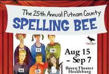 The 25th Annual Putnam County Spelling Bee / Aug 15 - Sep 7 2014 at Raven Theater Healdsburg. The Tony Award-winning musical comedy of adolescent overachievers' angst. www.raventheater.org / by Raven Performing Arts Theater