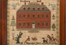 Antique Samplers & Stitcheries / by Pam Buda ~ Heartspun Quilts