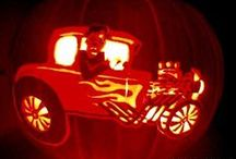 Halloween - Pumpkin Carving / Jack-O'-Lanterns / Carved Pumpkins / by Life With Lorelai Blog