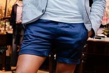 Shorts / Discover men's shorts and find your outfit inspiration. / by Lookastic