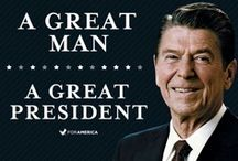 Ronald Reagan - We Need Another Like Him / by Valerie Gale