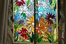 stained glass art / by Zinia Rai