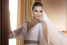 Grecian Style Wedding Dresses / by DeDe Bradsher