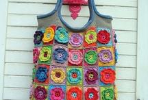 crochet-bags / by Anneke