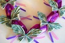 Origami/Money leis / by J C