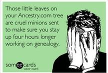 Genealogy Humor / by Journey to the Past