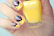 Nailed It. / Painting my nails is one of my favorite things to do. / by Emily Smith