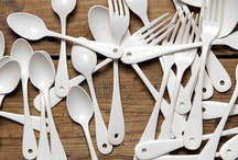 Kitchen Flatware / The missing link to fabulous kitchen style. / by Coryanne Ettiene
