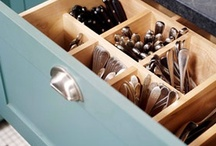 Kitchen Organization / Clutter solutions for a modern kitchen. / by Coryanne Ettiene