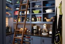 Kitchen Pantry / Stylish and fabulous kitchen panty ideas / by Coryanne Ettiene