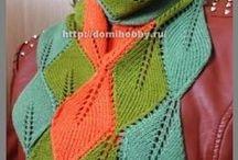 maglia - sciarpe, scialli, guanti e berretti / by Mariellam