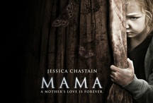 Mama / Guillermo del Toro presents Mama, a supernatural thriller that tells the haunting tale of two little girls who disappeared into the woods the day that their parents were killed.  When they are rescued years later and begin a new life, they find that someone or something still wants to come tuck them in at night. / by Universal Pictures