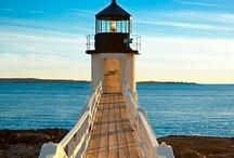 A LIGHT UNTO MY PATH / I Love Lighthouses!  / by Trish Hardin